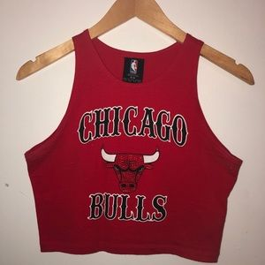 NBA Chicago Bulls crop top from Forever 21
